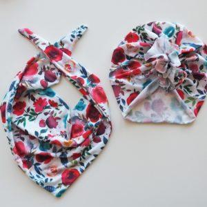 Tulband met bijpassende sjaal